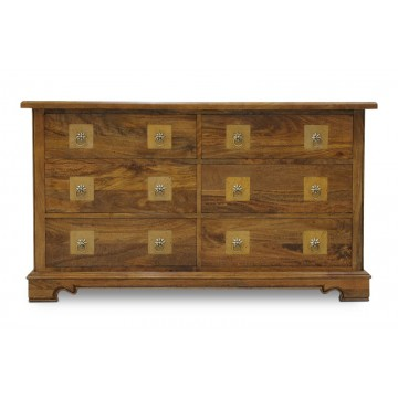 CHEST 6DWR WITH FLAGSTONE TOP