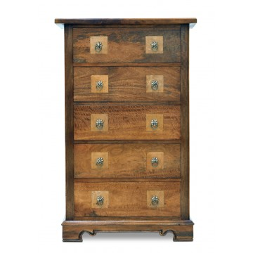 5DWR TALL CHEST WITH FLAGSTONE TOP