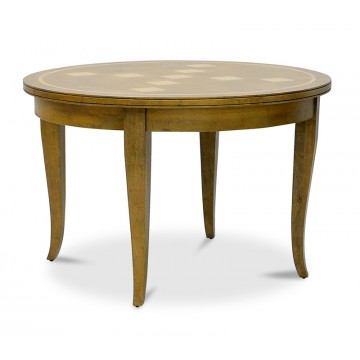 CURVED APRON ROUND TABLE