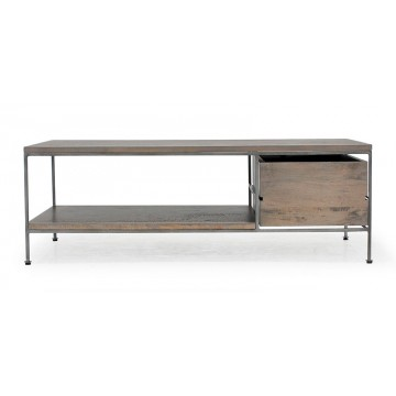 1 DWR COFFEE TABLE WITH SHELF