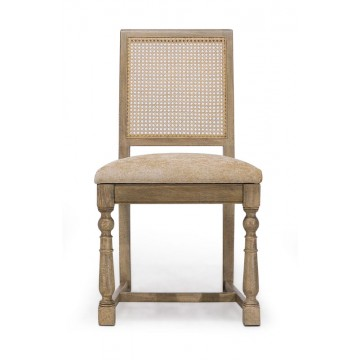 SIDE CHAIR WITH BALUSTER LEG