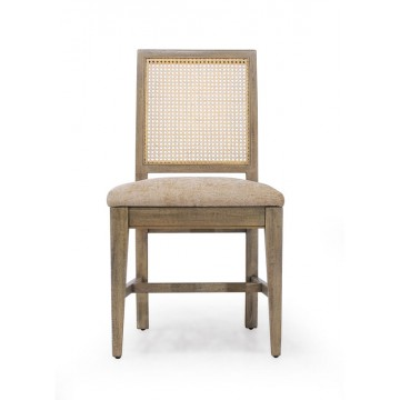 SIDE CHAIR WITH TAPERED LEG