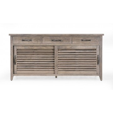 SIDEBOARD WITH 3DWR AND 2 SLIDING DOOR