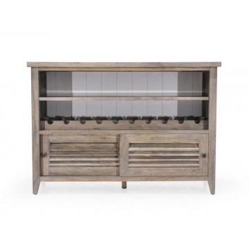 CONSOLE WITH SLIDING DOOR